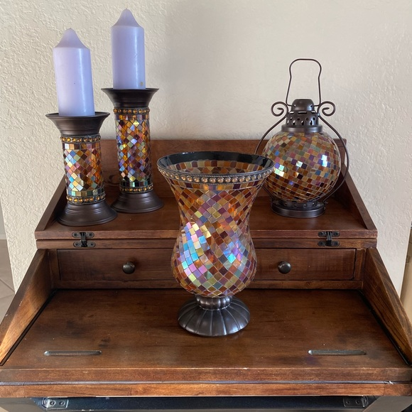 PartyLite candle holders
